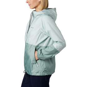 Columbia Flash Forward Chaqueta Cortavientos Mujer, cool green/light lichen